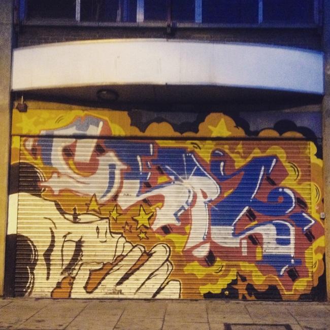 street art in hoxton