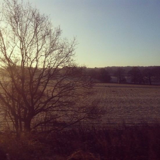 the kentish countryside