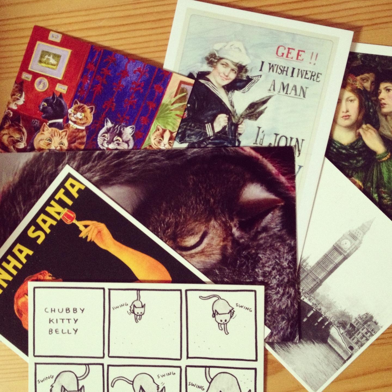 Postcards, aka AnalogueMicroblogging