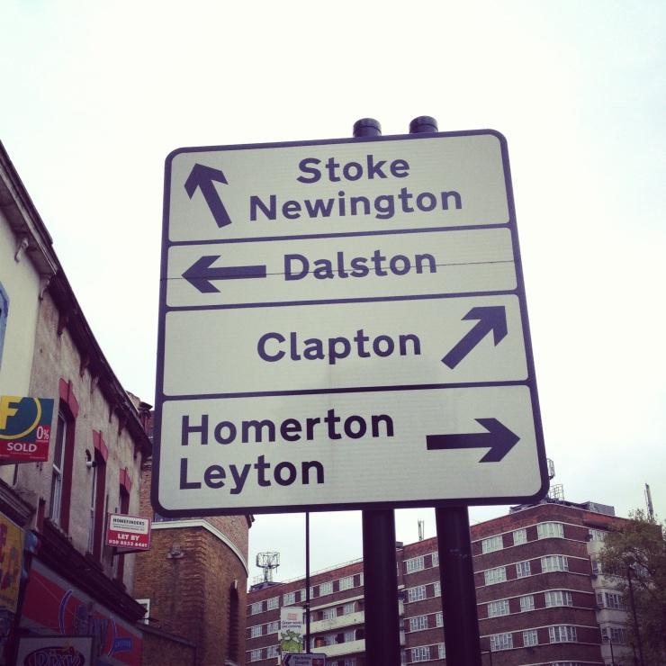 hackney sign