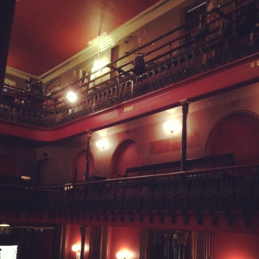 Hoxton Hall interior