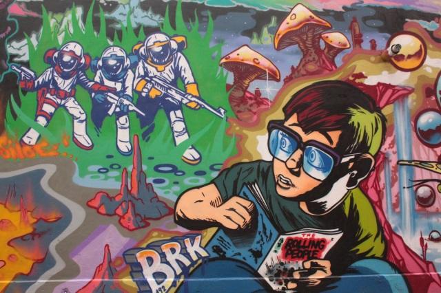 hoxton mural