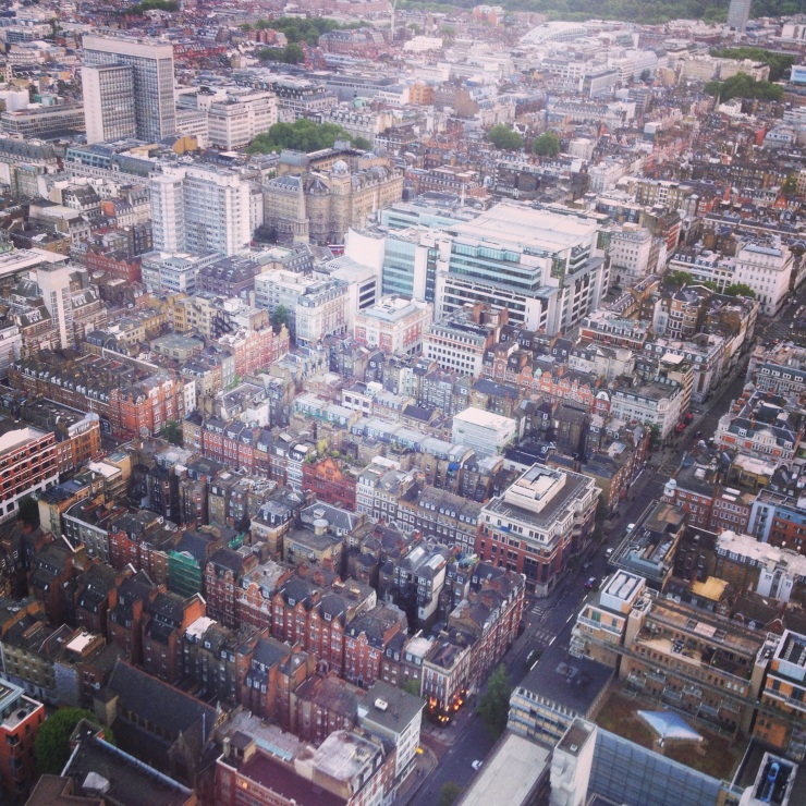 Fitzrovia from above